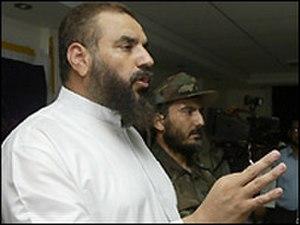 Nizar Rayan - Rayan at a press conference 23 September 2005 in Gaza. (AFP)