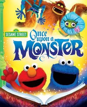 Sesame Street: Once Upon a Monster - Image: Once Upon a Monster cover