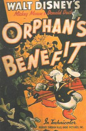 Orphan's Benefit - Theatrical release poster