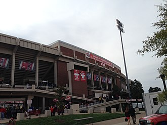 Houchens Industries–L. T. Smith Stadium - Image: Outsidesmith