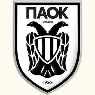 P.A.O.K. H.C. - Image: PAOK Handball Logo