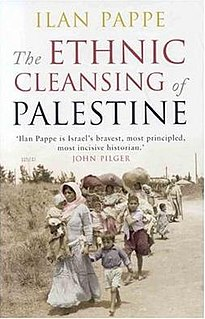 <i>The Ethnic Cleansing of Palestine</i> book by Ilan Pappé