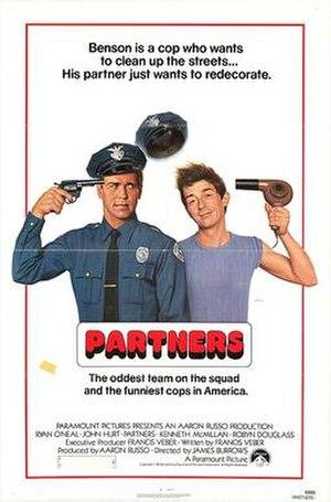 Partners (1982 film) - Image: Partners 1982
