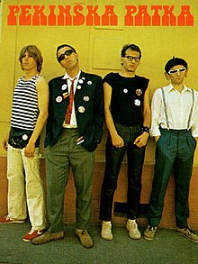 Pekinska Patka band photo punk band Serbia Vojvodina Yugoslavia.jpg