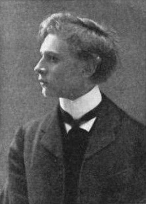 Percy Grainger - Grainger aged 18, towards the end of his Frankfurt years