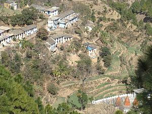 Pithoragarh district - A village of Pithoragarh district