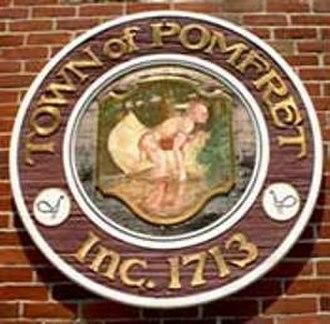 Pomfret, Connecticut - Image: Pomfret C Tseal