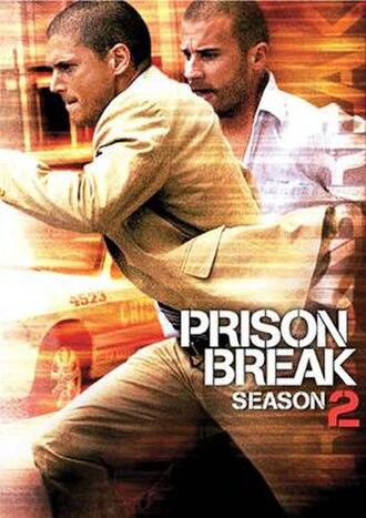 Prison Break (season 2) - DVD cover