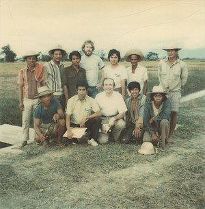 Landesa - Roy Prosterman works with Vietnamese farmers