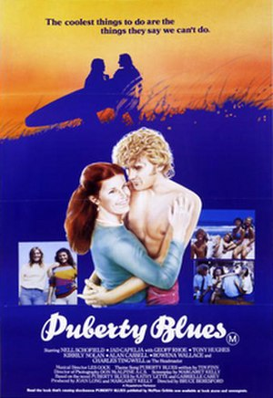 Puberty Blues - DVD cover