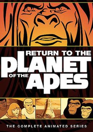 Return to the Planet of the Apes - DVD cover of Return to the Planet of the Apes