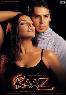 <i>Raaz</i> (2002 film) 2002 film by Vikram Bhatt
