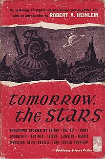 <i>Tomorrow, the Stars</i> book by Robert Heinlein
