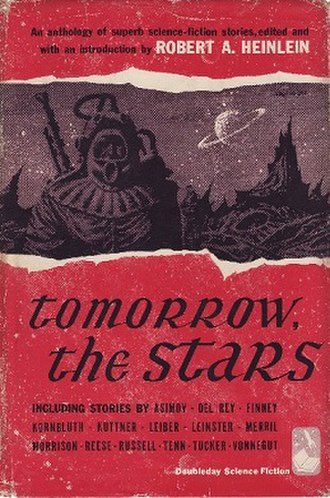 Tomorrow, the Stars - Cover of first edition (hardcover)