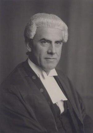 Raymond Evershed, 1st Baron Evershed - Image: Raymond Evershed, 1st Baron Evershed