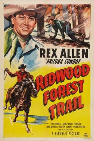 Redwood Forest Trail - Theatrical release poster