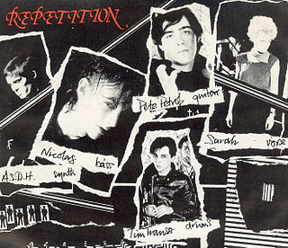 Repetition (band) post-punk band from London