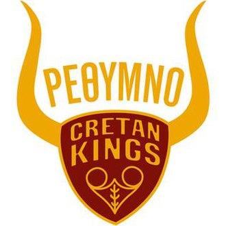 Rethymno Cretan Kings B.C. - Image: Rethymno B.C. logo