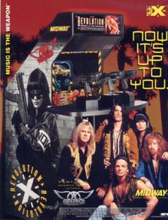 <i>Revolution X</i> 1994 video game