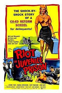 <i>Riot in Juvenile Prison</i> 1959 film by Edward L. Cahn