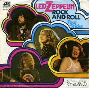 Rock and Roll (Led Zeppelin song) - Image: Rock & Roll 45