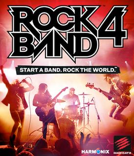 <i>Rock Band 4</i> music video game