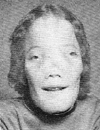 Roy L. Dennis - Dennis' junior high school yearbook photo, 1977