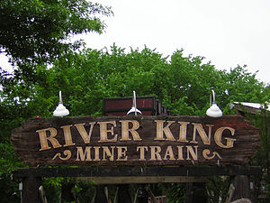 Six Flags St. Louis - Image: SFSL River King Mine Train