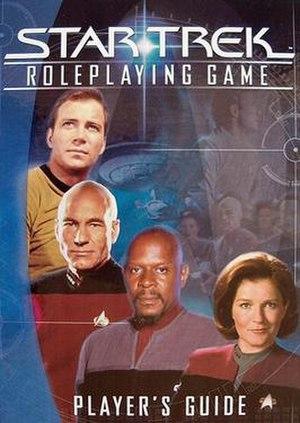 Star Trek Roleplaying Game - Image: ST RPG Pl G cov