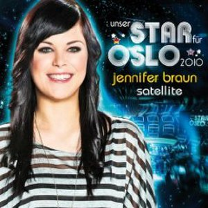 Satellite (Lena Meyer-Landrut song) - Image: Satellite Braun