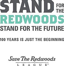 Save the Redwoods League logo - Stand for the Redwoods, Stand for the Future