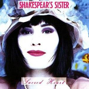 Sacred Heart (Shakespears Sister album) - Image: Shakespears Sister Sacred Heartalbumcover