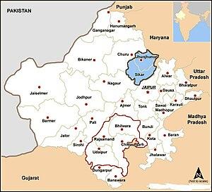 Shekhawati - Shekhawati region of Rajasthan