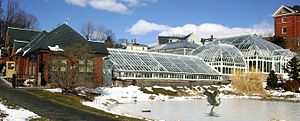 William Francis Ganong - The greenhouses at Smith College date from Ganong's tenure there beginning in 1894.