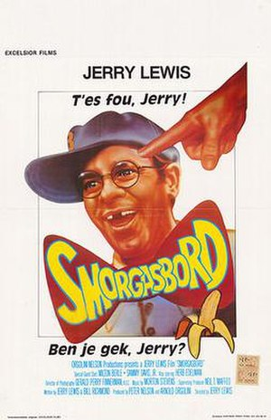Cracking Up (film) - Theatrical Poster for the Belgian Release (Under its original title)