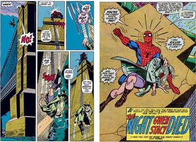 Spider-man comic strip