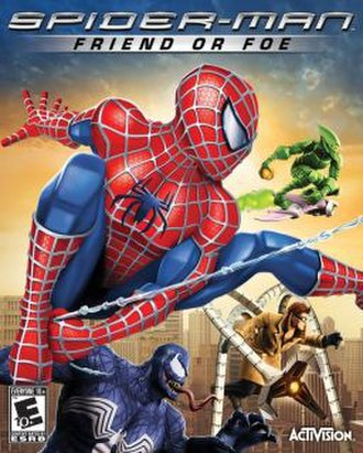 Spider-Man: Friend or Foe - Image: Spider Man Friend or Foe cover