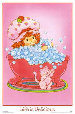 Strawberry Shortcake - An original Strawberry Shortcake poster