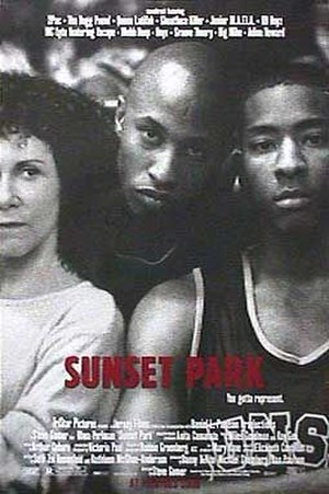 Sunset Park (film) - Theatrical release poster