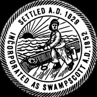 Official seal of Swampscott, Massachusetts
