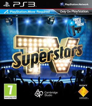 TV Superstars - Official Cover Art