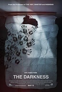 <i>The Darkness</i> (film) 2016 American horror thriller film directed by Greg McLean