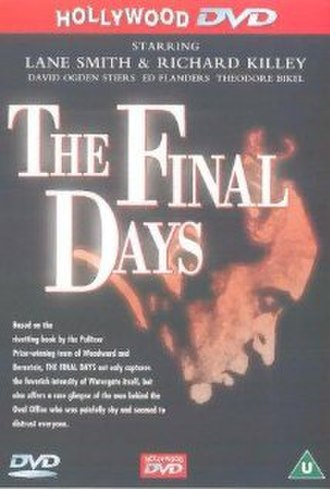 The Final Days (1989 film) - DVD Cover