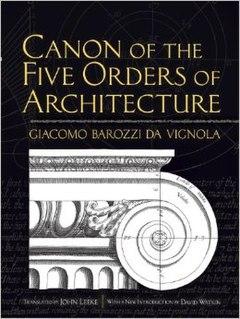 <i>The Five Orders of Architecture</i> book by Giacomo Barozzi da Vignola