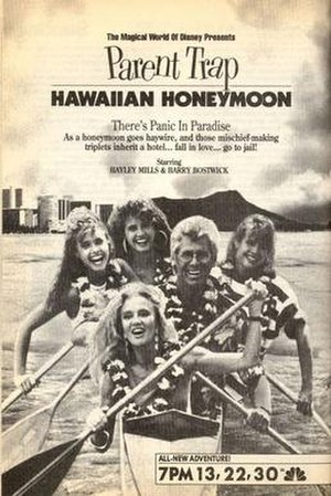 Parent Trap: Hawaiian Honeymoon - Image: The Parent Trap IV Hawaiian Honeymoon