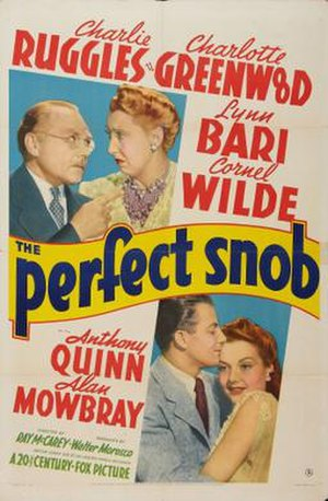 The Perfect Snob - Theatrical release poster