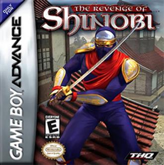 The Revenge of Shinobi (2002 video game) - The Revenge of Shinobi cover art