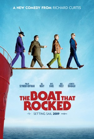 The Boat That Rocked - Theatrical release poster