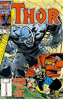 Absorbing Man Fictional character