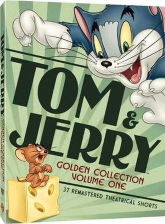 Tom and Jerry Golden Collection - DVD release of Volume 1